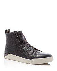Diesel Tempus Diamond Mid Top Sneakers Black