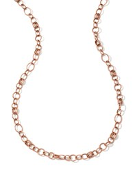 18K Rose Gold Glamazon Classic Link Chain Necklace 33' Ippolita