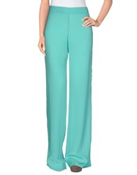 Barba Trousers Casual Trousers Women Turquoise