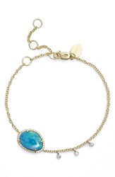 Women's Meira T Diamond And Semiprecious Stone Bracelet