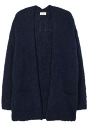American Vintage Boolder Navy Chunky Knit Cardigan