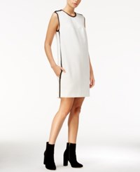 Rachel Roy Embellished Mini Shift Dress Only At Macy's Eggshell