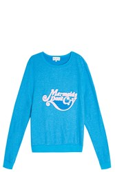 Wildfox Couture Mermaids Don't Cry Sweater Blue