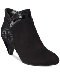 Karen Scott Cahleb Dress Booties Only At Macy's Women's Shoes Black