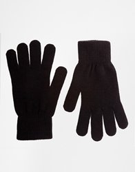 French Connection Touchscreen Gloves Black