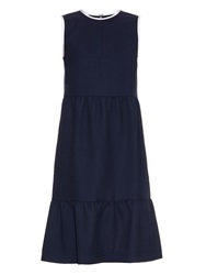 Mother Of Pearl Laurie Sleeveless Wool Pique Dress