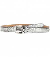 Fausto Colato Mytheresa.Com Exclusive Snakeskin Belt Silver