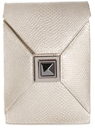 Kara Ross 'Itty Bitty Prunella' Crossboby Bag Metallic