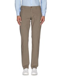 Siviglia White Trousers Casual Trousers Men Khaki