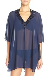 Women's Ted Baker London 'Wilmat' Embellished Swim Cover Up