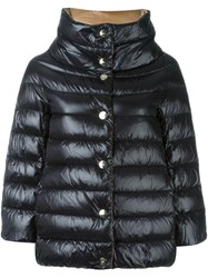 Herno Reversible Padded Jacket Black