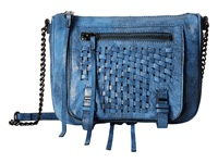 She Lo Take A Chance Zip Crossbody Cobalt Black Cross Body Handbags Blue