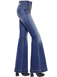 Stella Mccartney Flared Organic Cotton Denim Jeans