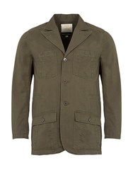 Realm And Empire Lightweight Cotton Jungle Field Jacket Forest Green