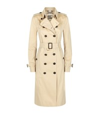 Burberry London Sandringham Extra Long Heritage Trench Coat Female Tan