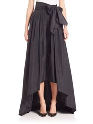 Escada Hi Lo Taffeta Ball Gown Skirt Black