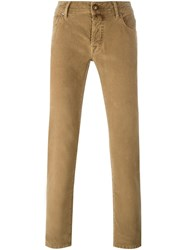 Jacob Cohen Slim Fit Jeans Brown
