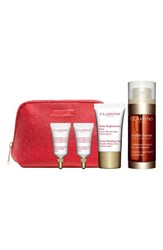 Clarins 'Double Serum' Complete Age Control Trio Over 136 Value