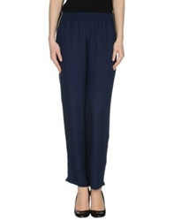 Momoni Momoni Casual Pants Dark Blue