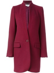 Stella Mccartney 'Bryce' Coat Pink And Purple