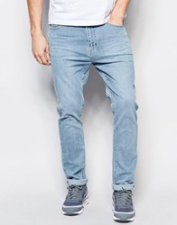 Dr. Denim Dr Denim Jeans Leon Slim Tapered Light Blue Wash Light Blue Wash