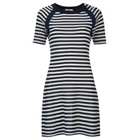 Sonia By Sonia Rykiel Women's Sailor Details Dress White Navy