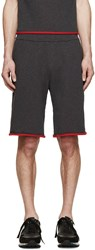 Christopher Kane Grey French Terry Shorts
