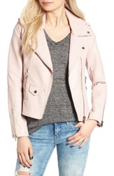 Blank Nyc Women's Blanknyc 'Easy Rider' Faux Leather Moto Jacket No Blushing