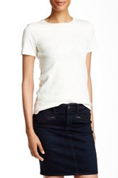 Ag Jeans Alexa Chung Palm Reader Short Sleeved Graphic Tee Multi