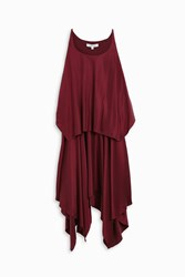 Elizabeth And James Women S Greer Silk Handkerchief Dress Boutique1 Red