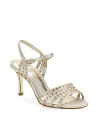 Adrianna Papell Vonia Open Toe Sandals Pearl