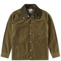 Sassafras Northerly Tube Breaker Jacket Green