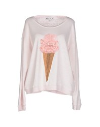 Wildfox Couture Wildfox Topwear Sweatshirts Women Light Pink