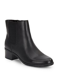 Bandolino Closter Leather Booties Black