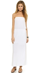 Sundry Strapless Dress White