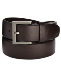 Kenneth Cole Reaction Men's Beveled Edge Belt Brown