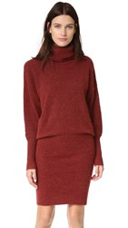 Designers Remix Alta Knit Pencil Dress Ox Blood