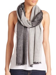 Tilo Lurex Infused Cashmere Scarf Grey