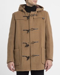 Gloverall Camel Mid Length Duffle Coat