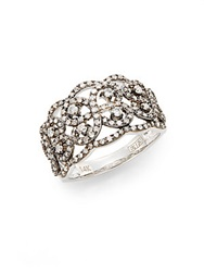 Effy Final Call 2.59 Tcw Diamond And 14K White Gold Woven Ring