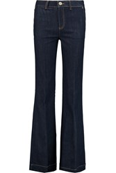 Red Valentino High Rise Bootcut Jeans