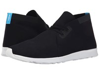 Native Apollo Chukka Jiffy Black Shell White Shell White Rubber Shoes