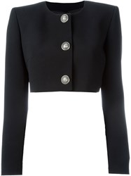Fausto Puglisi Cropped Jacket Black