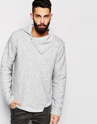 River Island Cowl Neck Jumper Lightgrey