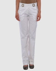 Hoss Intropia Casual Pants White
