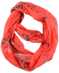 Little Earth Tampa Bay Buccaneers Sheer Infinity Scarf Red