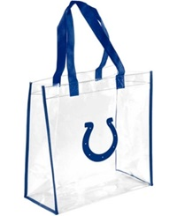 Forever Collectibles Indianapolis Colts Clear Tote Bag