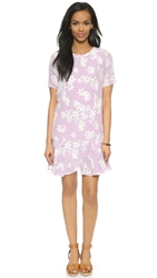 Myne Aspen Silk Swing Dress Sweet Pea