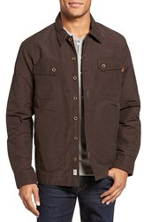 Timberland Men's Waxed Canvas Shirt Jacket