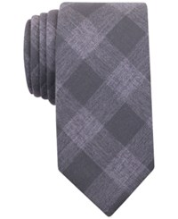 Bar Iii Men's Olive Gingham Tie Only At Macy's